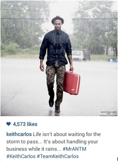 Keith Carlos message