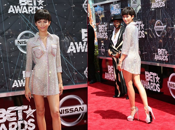 Fashion Police 2015 Bet Awards BET Zendaya